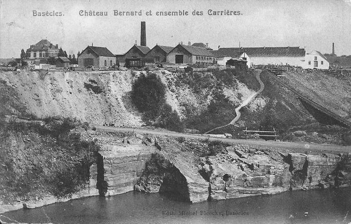 Basècles Château Bernard et ensemble des Carrières 1909