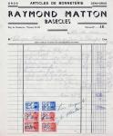 Bonneterie Raymond Maton 1946