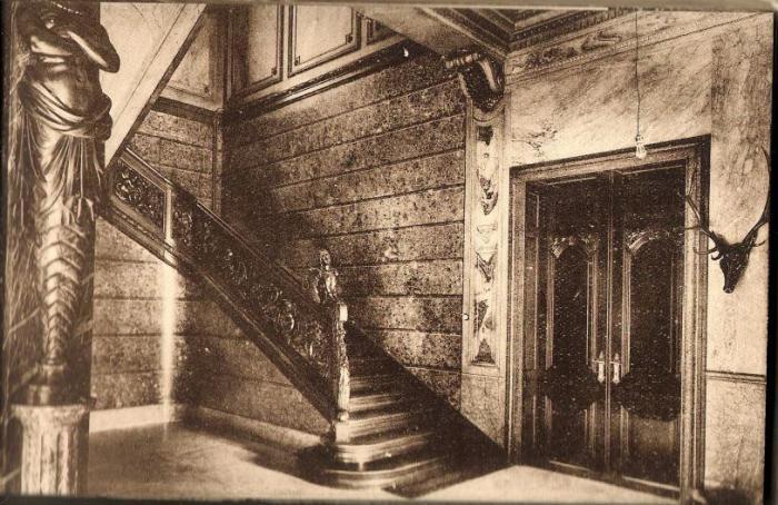 Château Dauderni 2 Escalier d'honneur