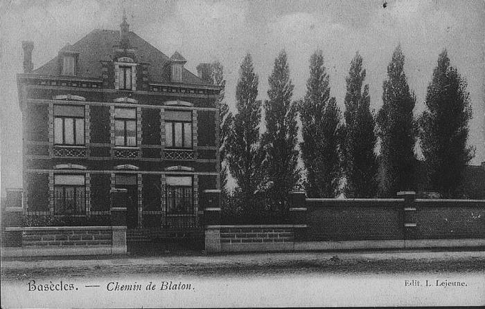 rue de Blaton (actuellement Rue des Carrières)
