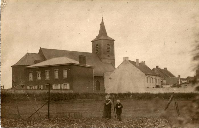 """Photo prise depuis les prairies de la """"piésinte de l'Houblonnière"""".(2)"""
