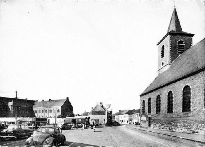 Eglise et couvent début des années '60