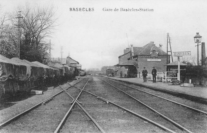 Gare de Basècles(faubourg) avant 1914