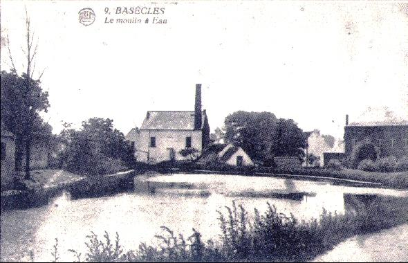 Ancien moulin à eau et son étang