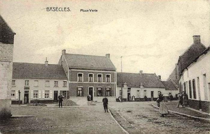 La place en 1905