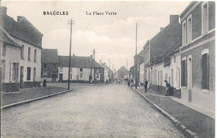 Place Verte début XXe