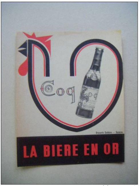 Pub Coq la bière en or