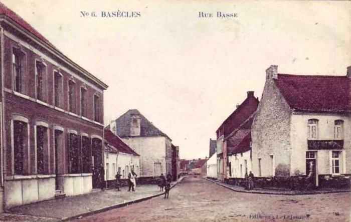 Partie de la Rue Alfred Gors et rue Basse