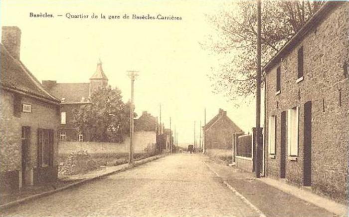 Quartier de la gare de Basècles-Carrières
