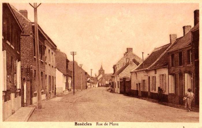 Rue de Mons (Actuellement rue du Banc de pierre)