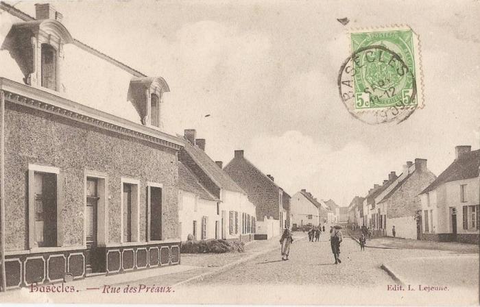vue du Trieu vers le village