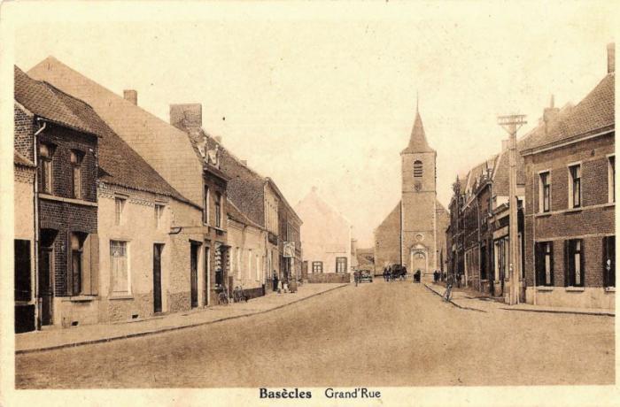 Rue grande vers l'église (àp.1929)