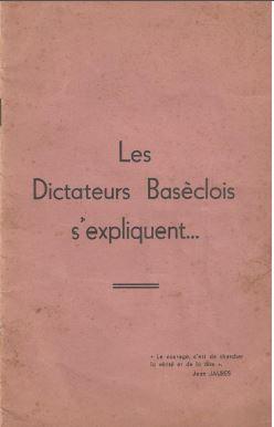 Les dictateurs s expliquent